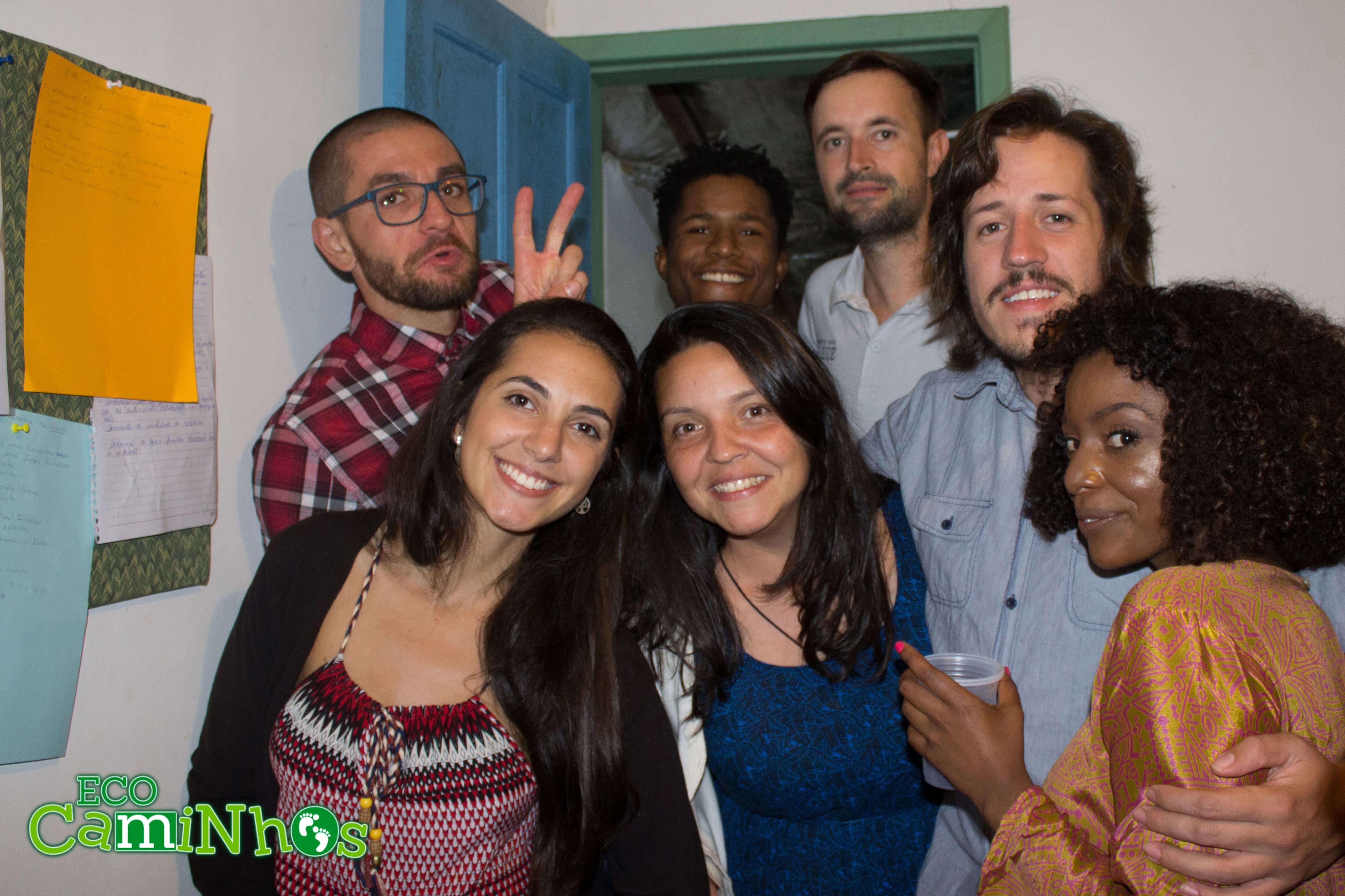 Eco Caminhos, party, lifestyle, volunteer, festa, voluntariado,