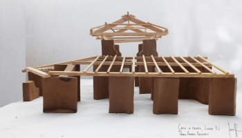 natural building maquette