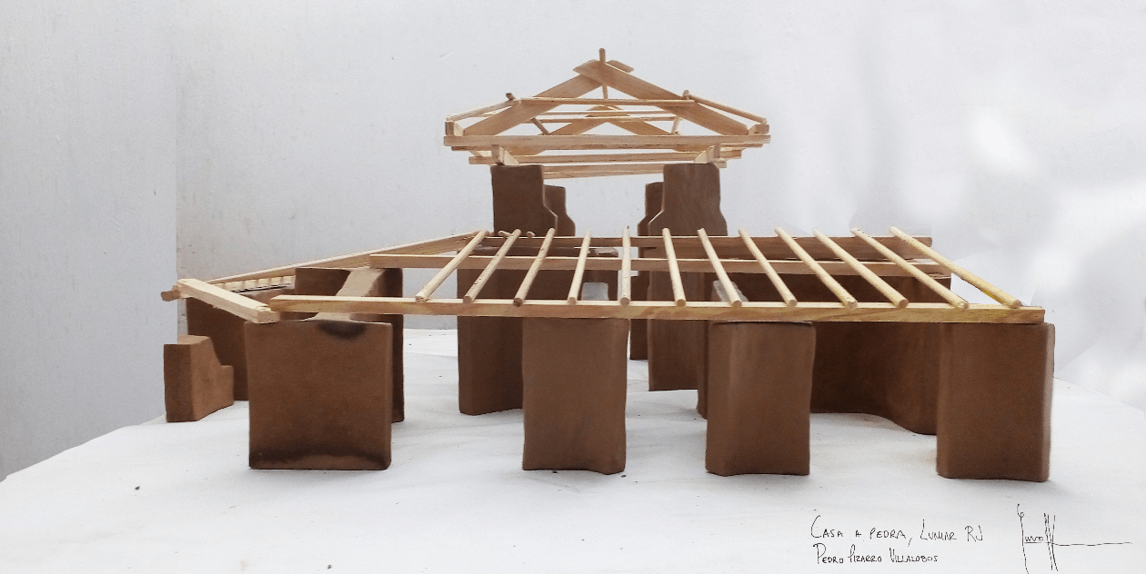natural building maquette